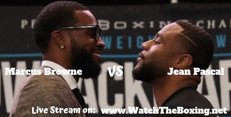 Marcus Browne Vs Jean Pascal Live Stream