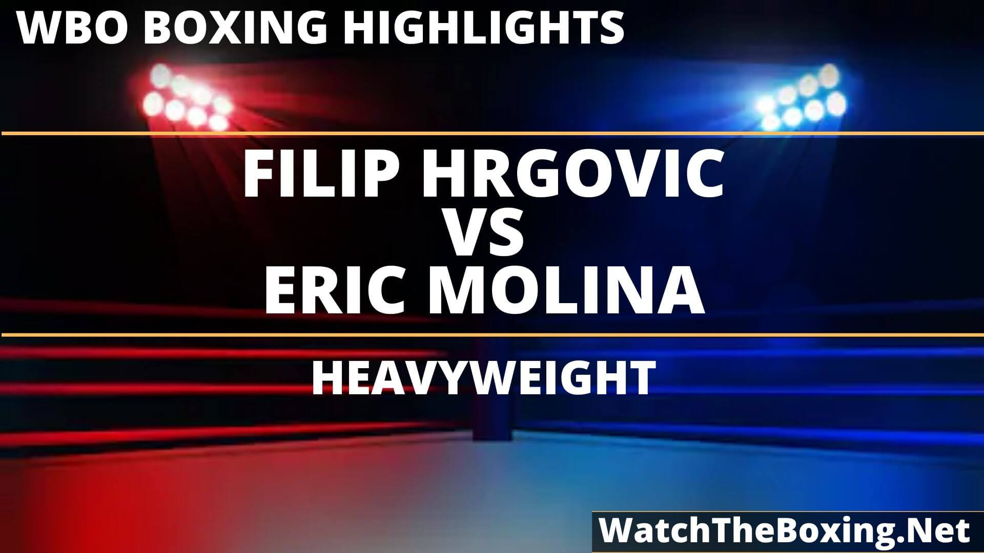Filip Hrgovic Vs Eric Molina Highlights 2019