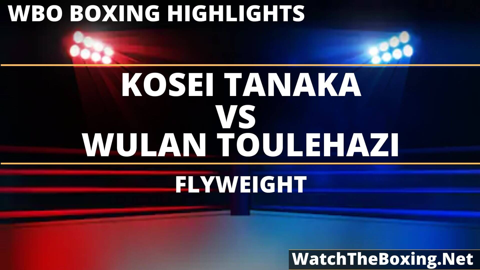 Kosei Tanaka Vs Wulan Tuolehazi Highlights 2019