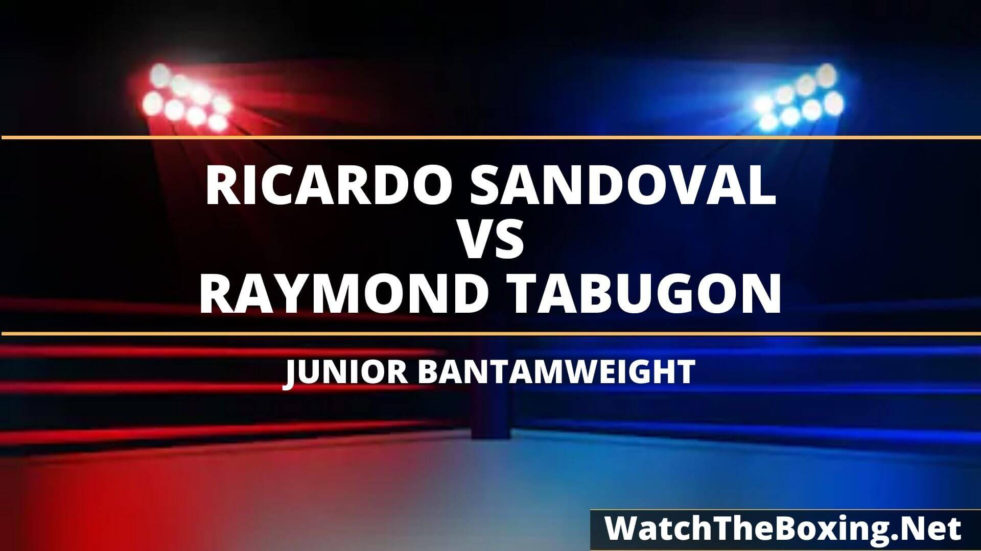 Ricardo Sandoval Vs Raymond Tabugon Highlights 2020