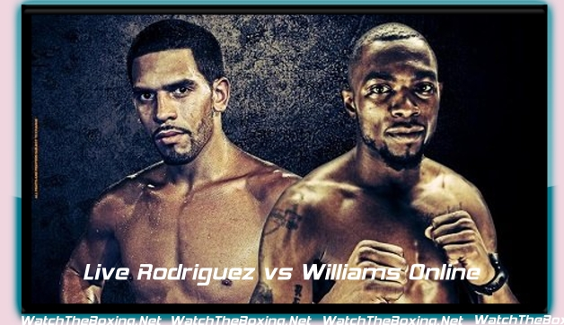 Live Rodriguez vs Williams Online