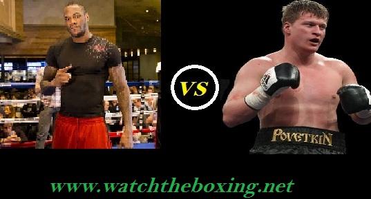 Watch Deontay Wilder vs Alexander Povetkin Live Boxing Rd 12