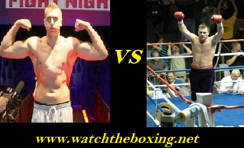 2016 Live Boxing John Wesley Nofire vs Joey Abell