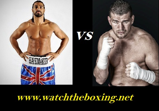 Watch Arnold Gjergjaj vs David Haye Live Fight Stream