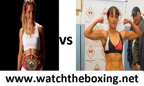 Yesica Yolanda Bopp vs Vanesa Taborda 2016 Live Boxing