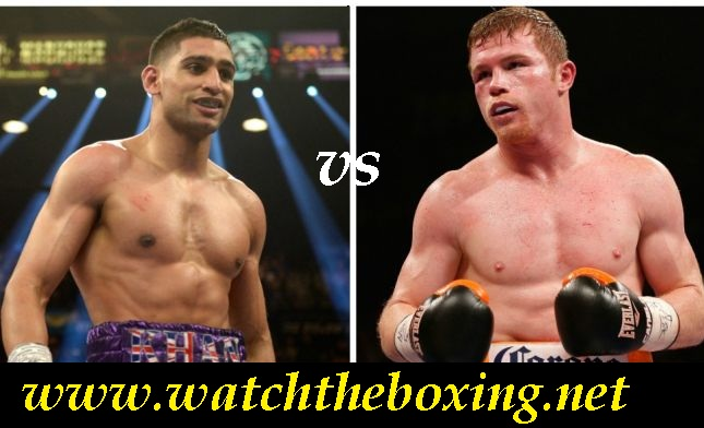 Watch Boxing Live Amir Khan vs Canelo Alvarez