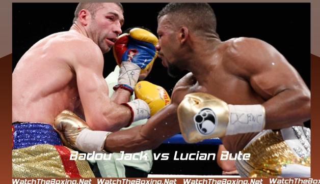 Badou Jack vs Lucian Bute Live Rnd 12