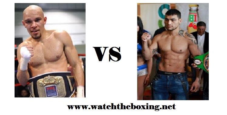 Caleb Truax VS Fabiano Pena live boxing