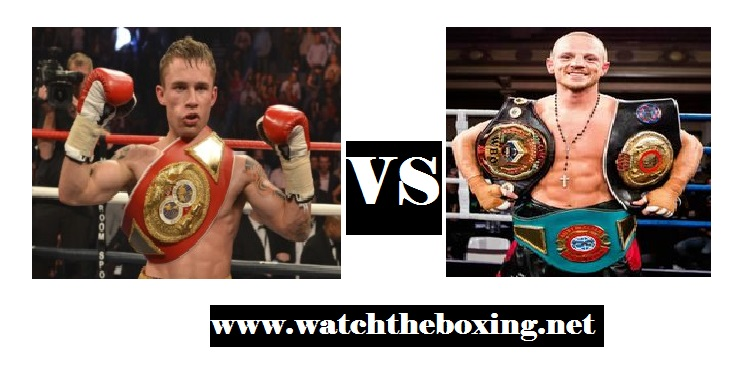 Carl Frampton VS Luke Jackson Live boxing