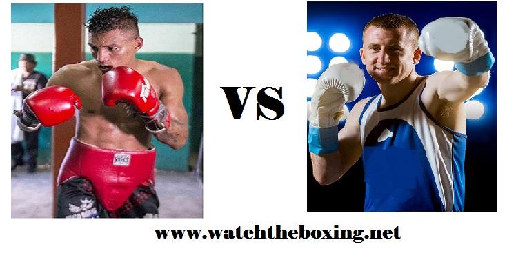 Cristofer Rosales VS Paddy Barnes live boxing