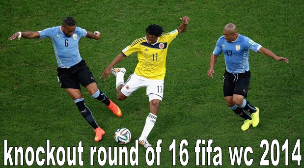 Knockout Round of 16 FIFA WC 2014