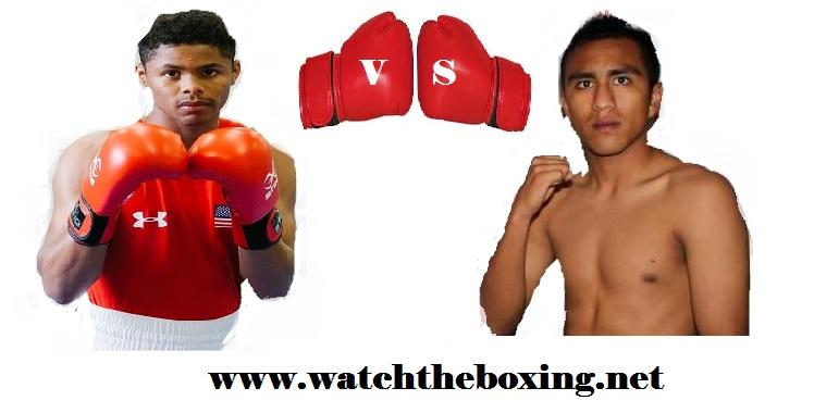 Live Boxing Shakur Stevenson VS Carlos Ruiz