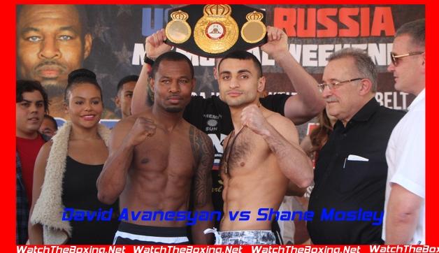 Live Fight Rd 12 David Avanesyan vs Shane Mosley