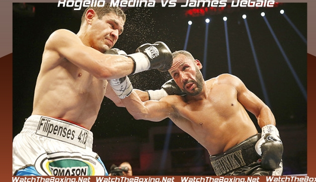 Live Rogelio Medina vs James DeGale
