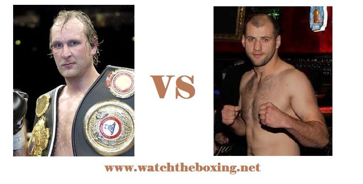 Robert Helenius VS Yury Bykhautsou Live Boxing