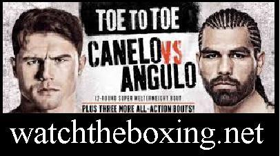 Alfredo Angulo vs Canelo Alvarez