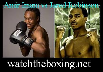 Amir Imam vs Jared Robinson