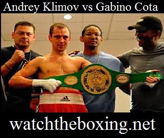 Andrey Klimov vs Gabino Cota