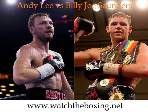 2015 Saunders vs Lee Live Boxing