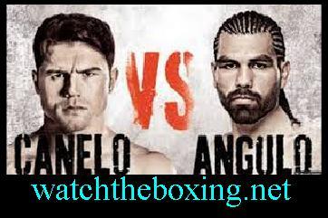 Angulo vs Canelo