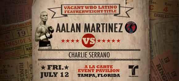 Charlie Serrano vs Aalan Martinez