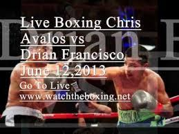Chris Avalos vs Drian Francisco