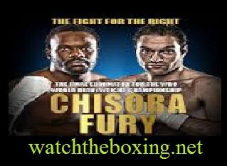 Dereck Chisora vs Tyson Fury