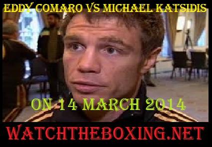 Eddy Comaro vs Michael Katsidis