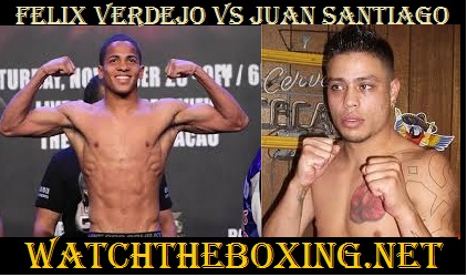 Felix Verdejo vs Juan Santiago