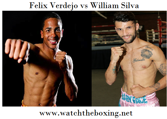 Live William Silva vs Felix Verdejo Stream Online