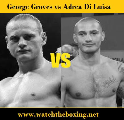 George Groves vs. Andrea Di Luisa this Saturday