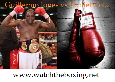 Guillermo Jones vs Daniel Cota