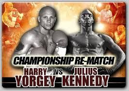 Harry Joe Yorgey vs Julius Kennedy