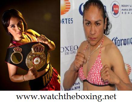 Live Irma Garcia vs Maria Elena Villalobos 2015 Stream Online