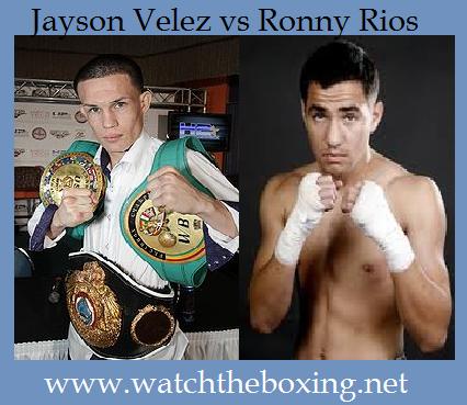 Jayson Velez vs Ronny Rios