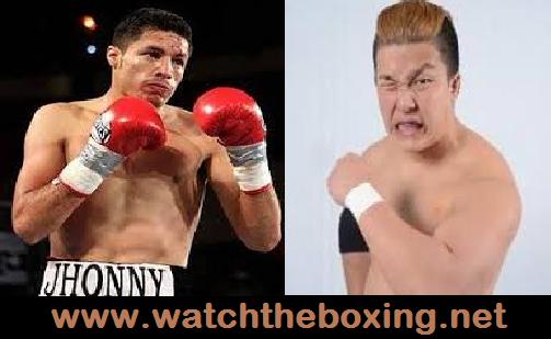 Jhonny Gonzalez vs Kazuki Hashimoto
