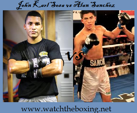 John Karl Sosa vs Alan Sanchez