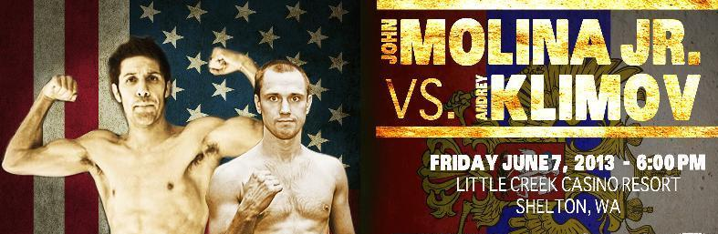 John Molina vs Andrey Klimov