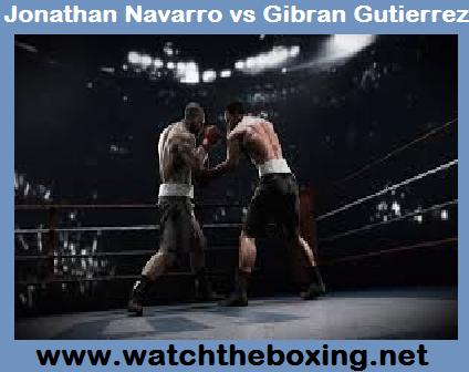 Jonathan Navarro vs Gibran Gutierrez