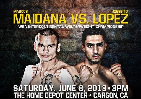 Josesito Lopez vs Marcos Rene Maidana