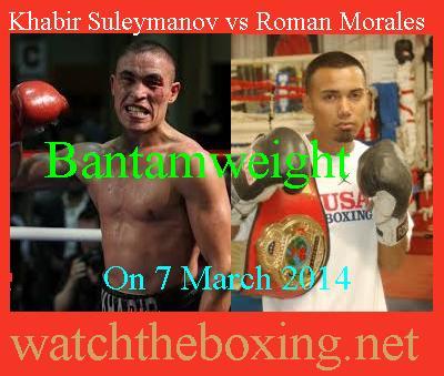 Khabir Suleymanov vs Roman Morales