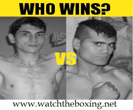 Mercel Coceres vs Cesar Velez