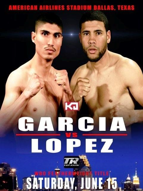 Mikey Garcia vs Juan Manuel Lopez
