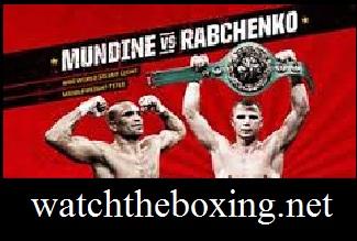 Mundine vs Rabchenko