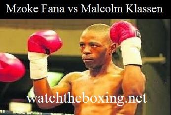 Mzoke Fana vs Malcolm Klassen