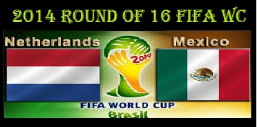 Netherlands vs Mexico