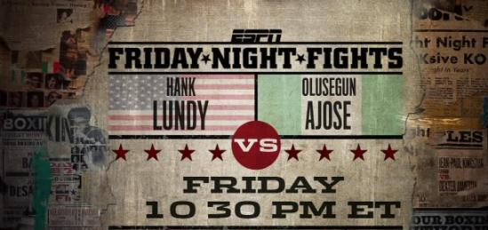 Olusegun Ajose vs Hank Lundy
