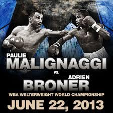 Paulie Malignaggi vs Adrien Broner