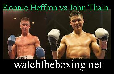 Ronnie Heffron vs John Thain
