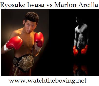 Ryosuke Iwasa vs Marlon Arcilla